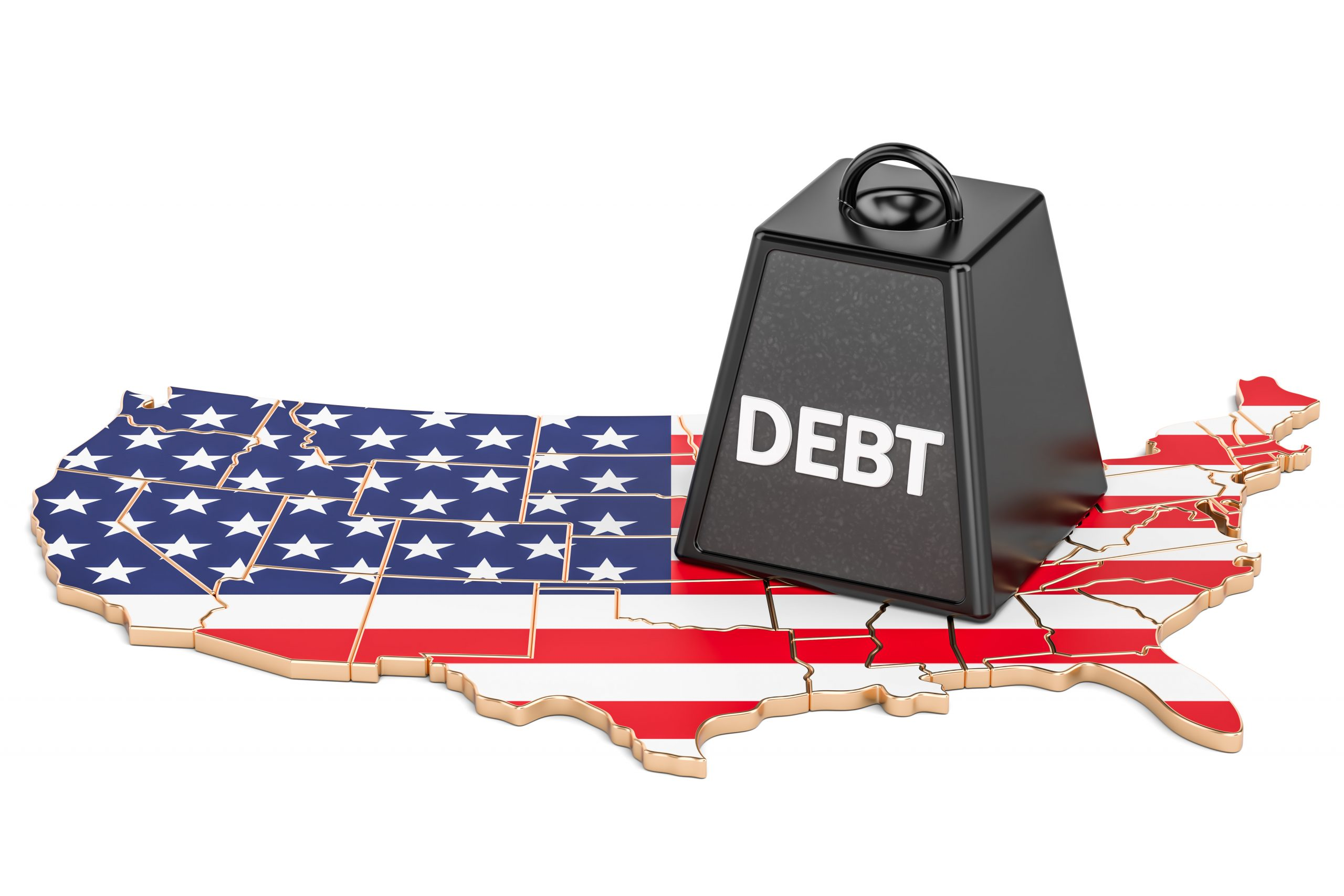 US National Debt - A weight that threatens our future.